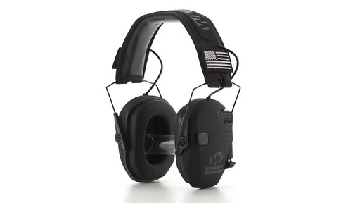 Walker's Razor Patriot Series Electronic Ear Muffs 360 View - image 6 from the video