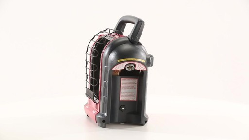 Mr Heater Buddy Portable Propane Heater 9000 BTU 360 View - image 10 from the video