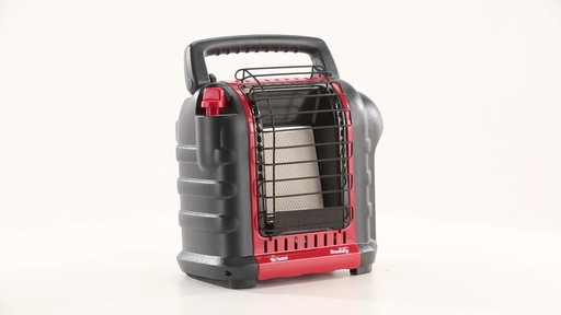 Mr Heater Buddy Portable Propane Heater 9000 BTU 360 View - image 3 from the video