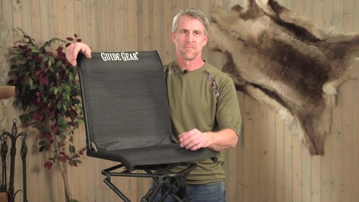 Guide Gear 360 Degree Swivel Hunting Blind Chair - image 9 from the video