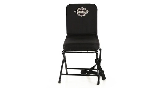 Guide Gear Swivel Hunting Chair Black 360 View - image 1 from the video