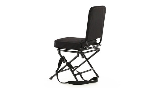 Guide Gear Swivel Hunting Chair Black 360 View - image 3 from the video