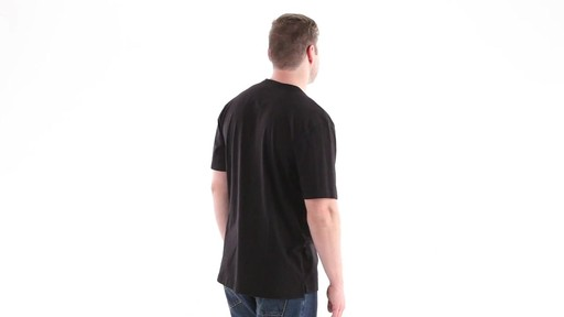 Guide Gear Men's Stain Kicker Henley Pocket T Shirt With Teflon 360 View - image 4 from the video