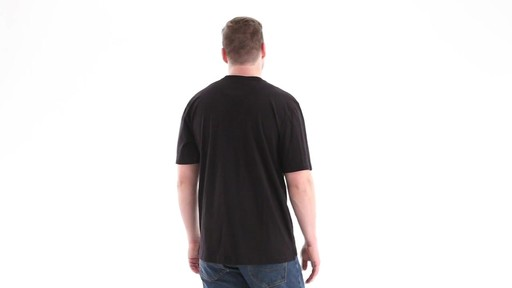 Guide Gear Men's Stain Kicker Henley Pocket T Shirt With Teflon 360 View - image 5 from the video