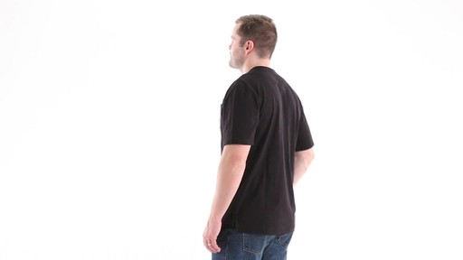 Guide Gear Men's Stain Kicker Henley Pocket T Shirt With Teflon 360 View - image 7 from the video