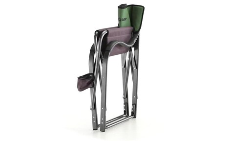 Guide Gear Oversized Aluminum Camp Chair Green 360 View - image 9 from the video