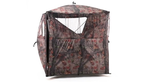 Guide Gear Silent Adrenaline Hunting Blind 360 View - image 10 from the video