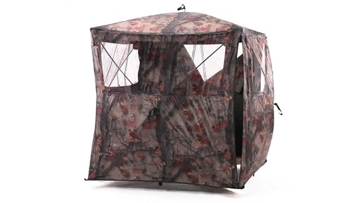 Guide Gear Silent Adrenaline Hunting Blind 360 View - image 6 from the video