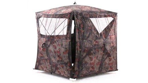 Guide Gear Silent Adrenaline Hunting Blind 360 View - image 7 from the video