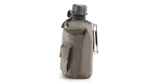 Military Style Canteen with Cover 2 Pack 360 View - image 2 from the video