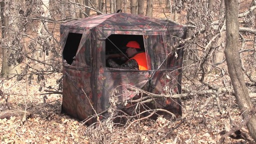 Guide Gear Silent Adrenaline Hunting Blind - image 9 from the video