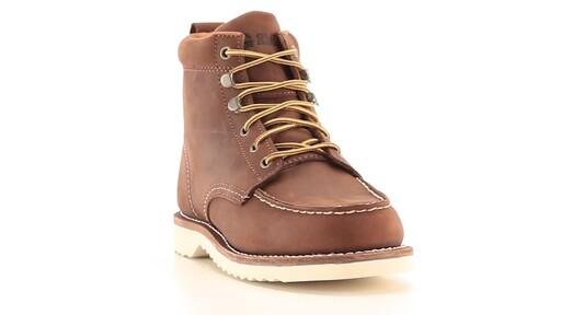 Guide Gear Men's Brutus Wedge Work Boots 360 View - image 3 from the video