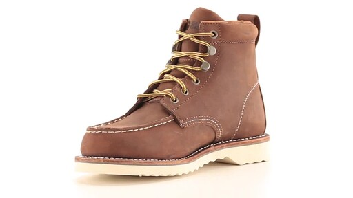 Guide Gear Men's Brutus Wedge Work Boots 360 View - image 5 from the video