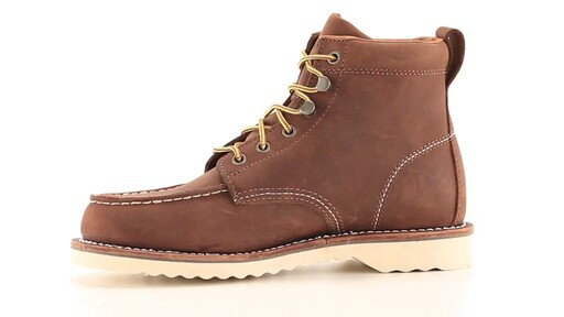 Guide Gear Men's Brutus Wedge Work Boots 360 View - image 6 from the video