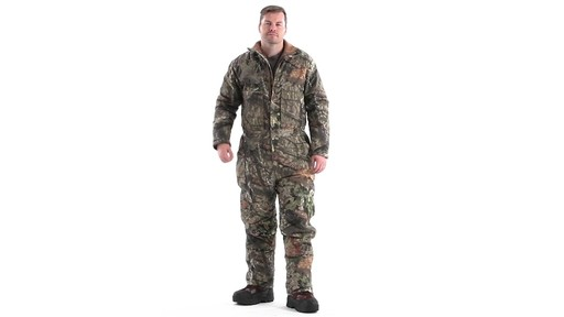 Guide Gear Men's Insulated Silent Adrenaline Hunting Coveralls 360 View - image 10 from the video