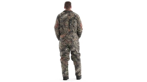 Guide Gear Men's Insulated Silent Adrenaline Hunting Coveralls 360 View - image 5 from the video