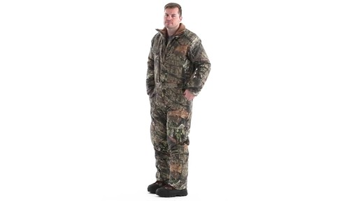 Guide Gear Men's Insulated Silent Adrenaline Hunting Coveralls 360 View - image 8 from the video