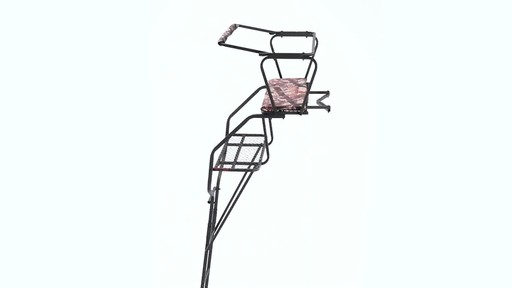 Guide Gear 18' Deluxe 2-Man Ladder Tree Stand 360 View - image 8 from the video