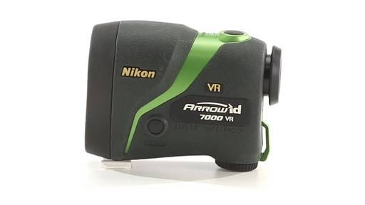Nikon ARROW ID 7000 VR Bowhunting Laser Rangefinder 1000 Yards 360 View - image 10 from the video