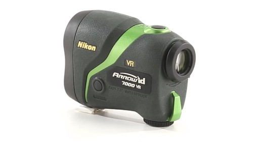 Nikon ARROW ID 7000 VR Bowhunting Laser Rangefinder 1000 Yards 360 View - image 9 from the video
