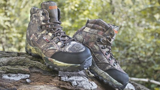 Guide Gear Guidelight II Men's Hunting Boots 400 Gram Thinsulate Mossy Oak Camo - image 3 from the video