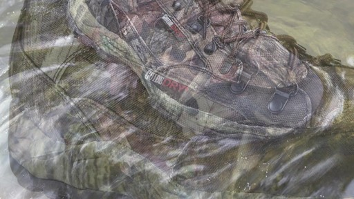 Guide Gear Guidelight II Men's Hunting Boots 400 Gram Thinsulate Mossy Oak Camo - image 6 from the video