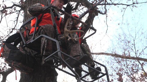 Guide Gear 18' Deluxe 2-man Ladder Tree Stand - image 9 from the video