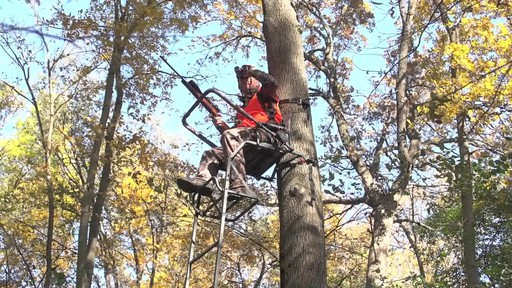 Guide Gear 16' Deluxe Ladder Tree Stand - image 1 from the video