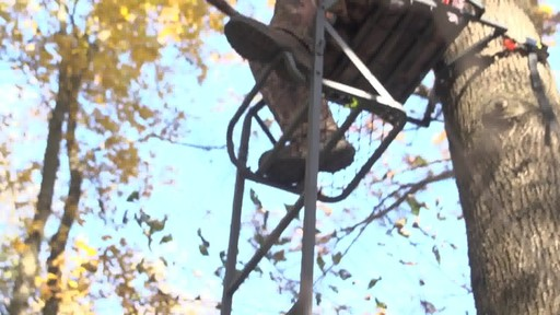 Guide Gear 16' Deluxe Ladder Tree Stand - image 2 from the video