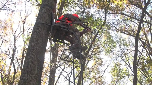 Guide Gear 16' Deluxe Ladder Tree Stand - image 3 from the video