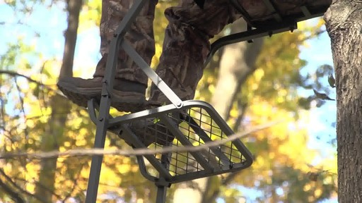 Guide Gear 16' Deluxe Ladder Tree Stand - image 4 from the video
