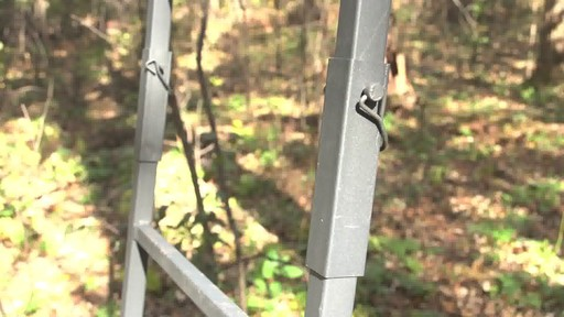 Guide Gear 16' Deluxe Ladder Tree Stand - image 8 from the video