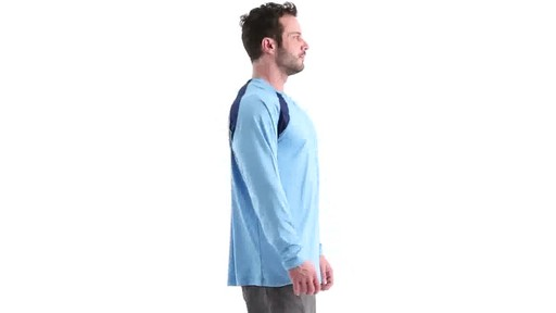 Guide Gear Men's Performance Fishing Long Sleeve Shirt 360 View - image 2 from the video