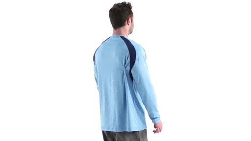 Guide Gear Men's Performance Fishing Long Sleeve Shirt 360 View - image 3 from the video