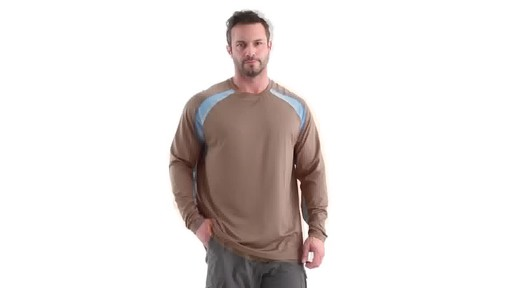 Guide Gear Men's Performance Fishing Long Sleeve Shirt 360 View - image 8 from the video