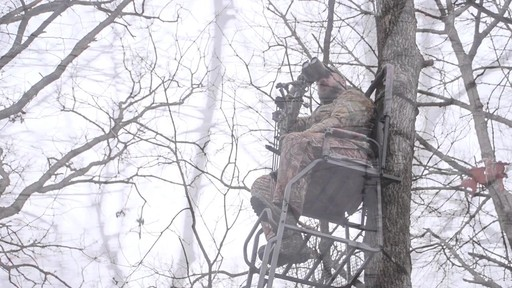 Guide Gear 21' Premium Ladder Tree Stand - image 10 from the video