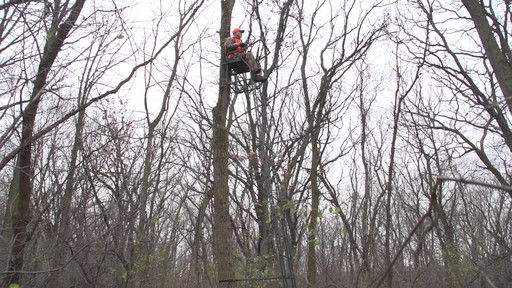 Guide Gear 21' Premium Ladder Tree Stand - image 2 from the video