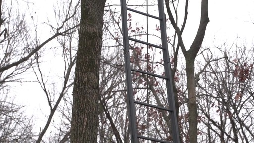 Guide Gear 21' Premium Ladder Tree Stand - image 3 from the video