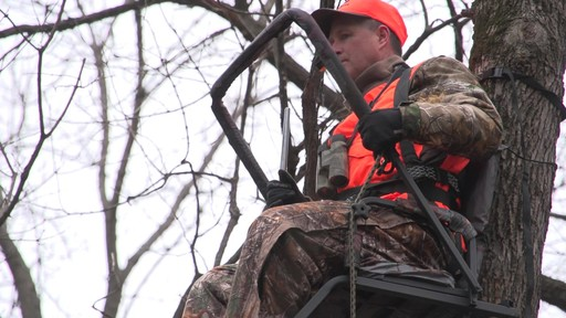 Guide Gear 21' Premium Ladder Tree Stand - image 4 from the video