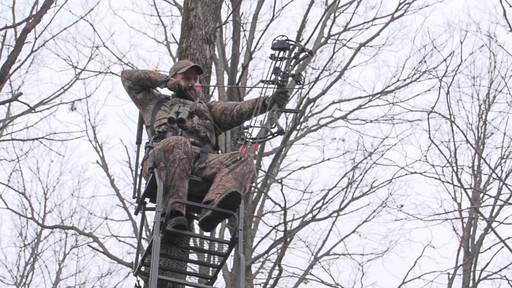 Guide Gear 21' Premium Ladder Tree Stand - image 5 from the video