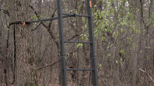 Guide Gear 21' Premium Ladder Tree Stand - image 7 from the video