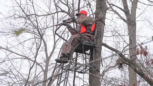 Guide Gear 21' Premium Ladder Tree Stand - image 8 from the video