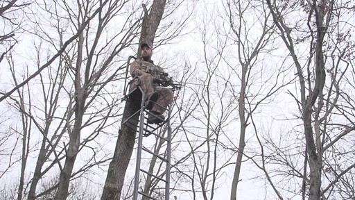 Guide Gear 21' Premium Ladder Tree Stand - image 9 from the video