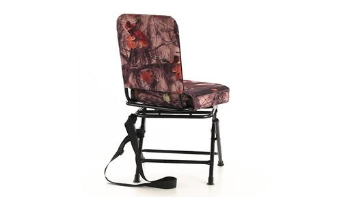 Guide Gear Camo Swivel Hunting Chair 360 View - image 5 from the video