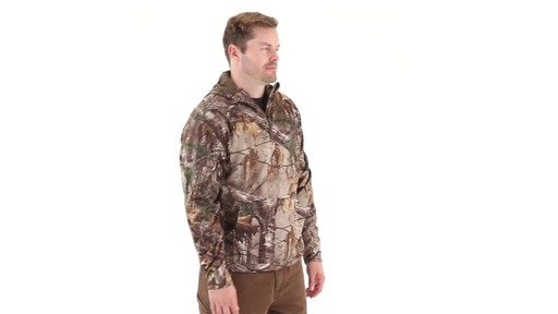 Guide Gear Men's Scent Control Quarter-Zip Hoodie 360 View - image 1 from the video