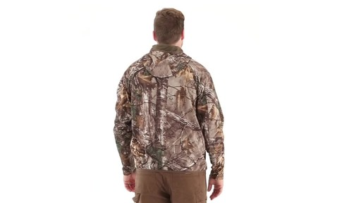 Guide Gear Men's Scent Control Quarter-Zip Hoodie 360 View - image 3 from the video