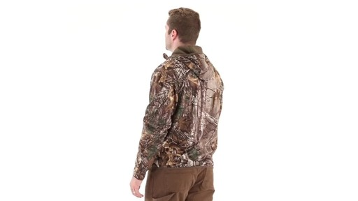 Guide Gear Men's Scent Control Quarter-Zip Hoodie - image 4 from the video