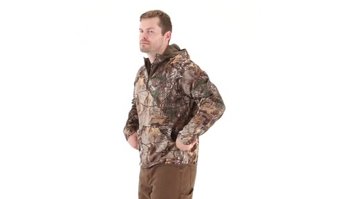 Guide Gear Men's Scent Control Quarter-Zip Hoodie 360 View - image 5 from the video