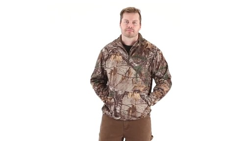 Guide Gear Men's Scent Control Quarter-Zip Hoodie - image 6 from the video