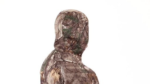 Guide Gear Men's Scent Control Quarter-Zip Hoodie 360 View - image 9 from the video